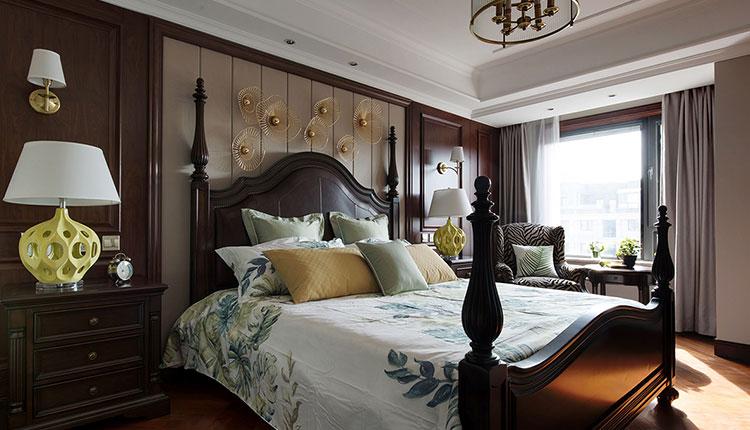 古典美式设计风格设计案例欣赏